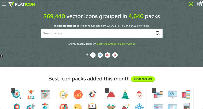 app icones