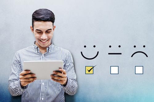 Importância de feedback nas vendas de apps