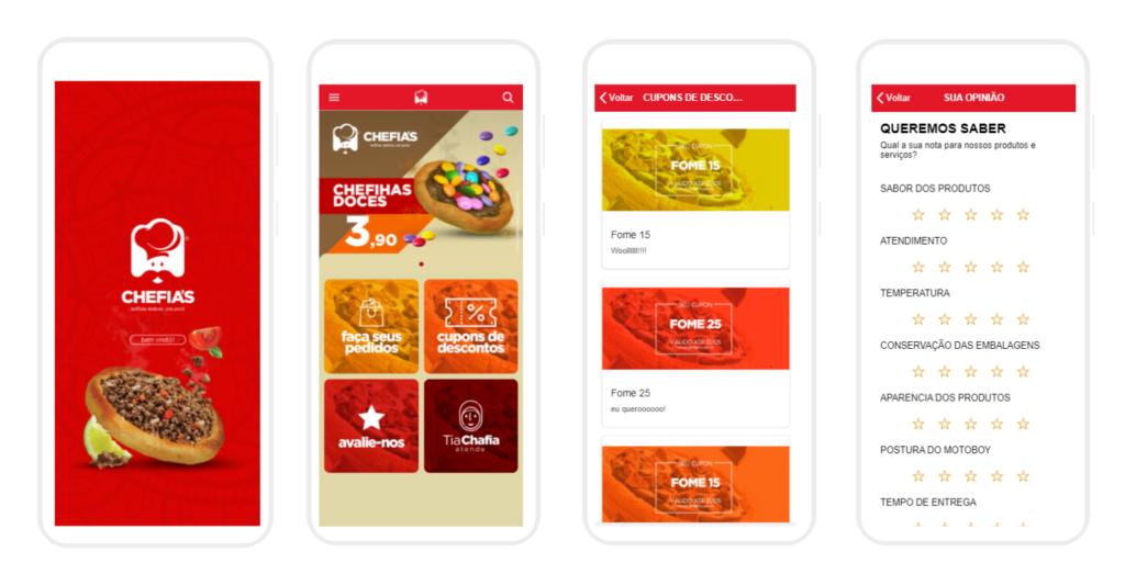 vendas de apps para restaurantes e lanchonetes
