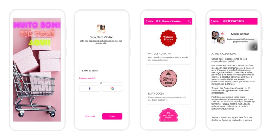 criar apps para salões de beleza